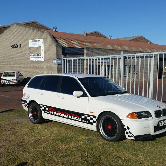 Precision Performance Shop Vehicle #PRECISIONPERFORMANCE #CapeTown