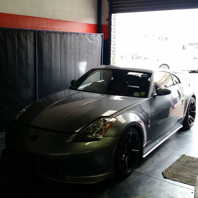 #PRECISIONPERFORMANCE #CapeTown #350z #single #turbo #dyno #bodykit # wheels comes to completion
